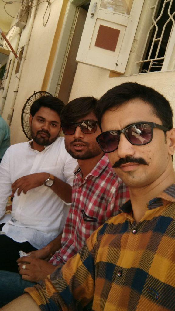 Yuvraj Ravi and Bhavin